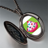Necklace & Pendants - sweet heart halloween candy pendant necklace Image.