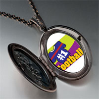 Necklace & Pendants - number 1  football pendant necklace Image.