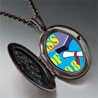 Necklace & Pendants - blue class 2008  graduation pendant necklace Image.