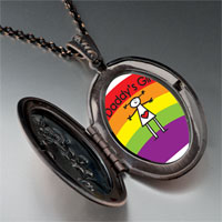 Necklace & Pendants - rainbow daddy' s girl pendant necklace Image.