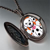 Necklace & Pendants - dalmatian dog heaven pendant necklace Image.
