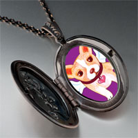 Necklace & Pendants - chihuahua dog heaven pendant necklace Image.