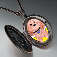 Necklace & Pendants - brown dog heaven pendant necklace Image.