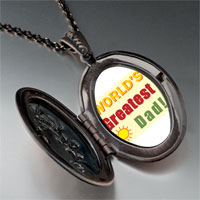Necklace & Pendants - world' s greatest dad pendant necklace Image.
