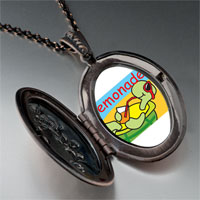 Necklace & Pendants - summer turtle lemonade pendant necklace Image.