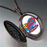 Necklace & Pendants - super mom heart pendant necklace Image.