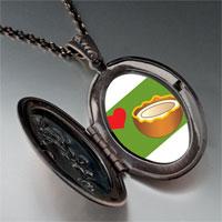Necklace & Pendants - heart coconut pendant necklace Image.