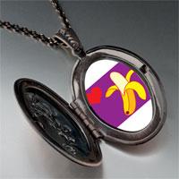 Necklace & Pendants - heart banana pendant necklace Image.