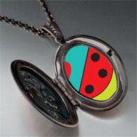 Necklace & Pendants - heart watermelon pendant necklace Image.