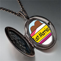 Necklace & Pendants - just married couple pendant necklace Image.
