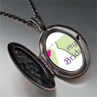 Necklace & Pendants - heart bride pendant necklace Image.