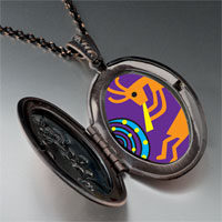 Necklace & Pendants - kokopelli dance pendant necklace Image.