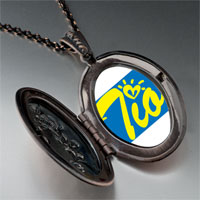 Necklace & Pendants - cursive heart tio pendant necklace Image.