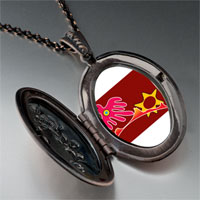 Necklace & Pendants - flying red bird pendant necklace Image.