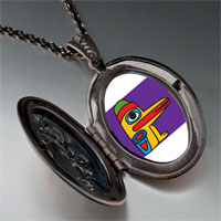 Necklace & Pendants - wooden bird craftwork pendant necklace Image.