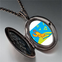 Necklace & Pendants - singing chirping bird pendant necklace Image.