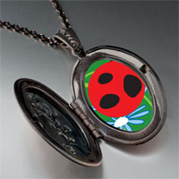 Necklace & Pendants - curious ladybug pendant necklace Image.