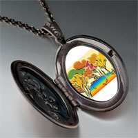 Necklace & Pendants - golden fall autumn pendant necklace Image.
