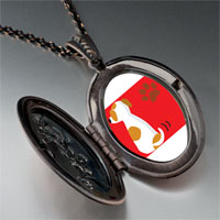 Necklace & Pendants - jack russell terrier dog pendant necklace Image.