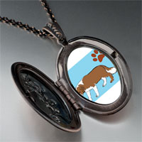 Necklace & Pendants - saint bernard dog pendant necklace Image.