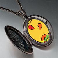 Necklace & Pendants - fallen autumn leaves pendant necklace Image.