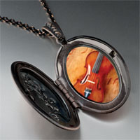 Necklace & Pendants - violin music pendant necklace Image.