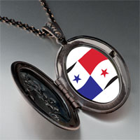 Necklace & Pendants - panama flag pendant necklace Image.