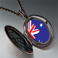 Necklace & Pendants - australia flag pendant necklace Image.
