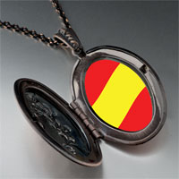 Necklace & Pendants - spain flag pendant necklace Image.