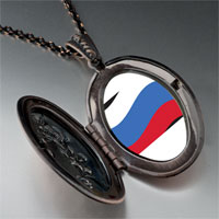 Necklace & Pendants - russia flag pendant necklace Image.