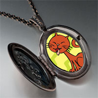 Necklace & Pendants - abyssinian cat pendant necklace Image.