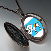 Necklace & Pendants - bobtail cat pendant necklace Image.