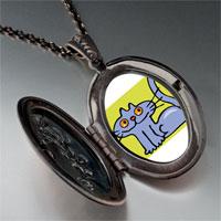Necklace & Pendants - british shorthair cat pendant necklace Image.
