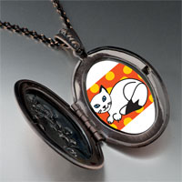 Necklace & Pendants - balinese cat pendant necklace Image.