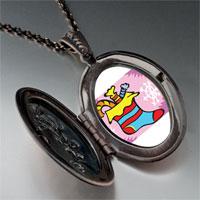 Necklace & Pendants - christmas jewelry halloween candy christmas stocking pendant necklace Image.