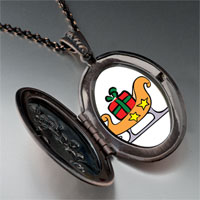 Necklace & Pendants - christmas sled pendant necklace Image.