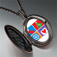 Necklace & Pendants - various christmas decorations pendant necklace Image.