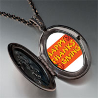 Necklace & Pendants - happy thanksgiving photo pendant necklace Image.
