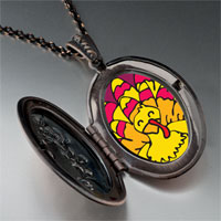 Necklace & Pendants - bright yellow turkey pendant necklace Image.