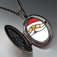 Necklace & Pendants - happy christmas santa claus pendant necklace Image.