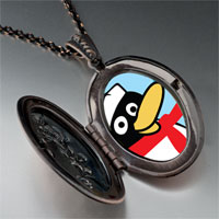 Necklace & Pendants - happy winter penguin pendant necklace Image.