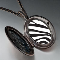 Necklace & Pendants - zebra skin pendant necklace Image.