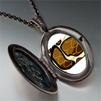 Necklace & Pendants - snake skin pendant necklace Image.