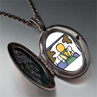 Necklace & Pendants - maids photo storybook pendant necklace Image.