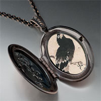 Necklace & Pendants - bird painting pendant necklace Image.