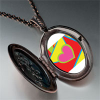 Necklace & Pendants - valentine' s day heart envelope photo pendant necklace Image.