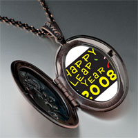 Necklace & Pendants - happy leap year photo pendant necklace Image.