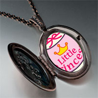 Necklace & Pendants - cartoon theme photo oval flower pendant little princess gifts for women necklace Image.