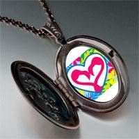 Necklace & Pendants - love theme heart photo pendant necklace Image.