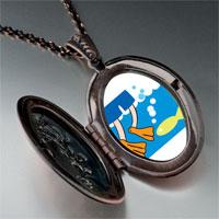 Necklace & Pendants - animal swimming fish photo pendant necklace Image.